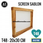 Screen Sablon T48 20x30 (KAYU)