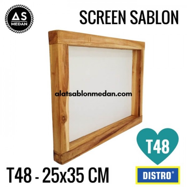 Screen Sablon T48 25x35 (KAYU)
