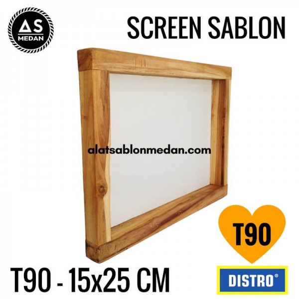 Screen Sablon T90 15x25 (KAYU)