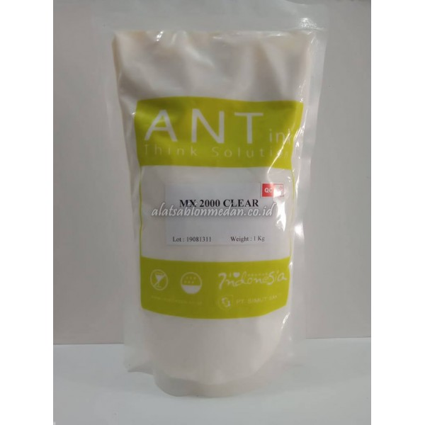 MX 2000 Clear 1Kg | Tinta Rubber Ant Ink