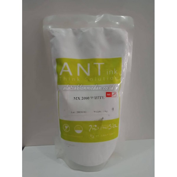 MX 2000 White 1Kg | Tinta Rubber Ant Ink