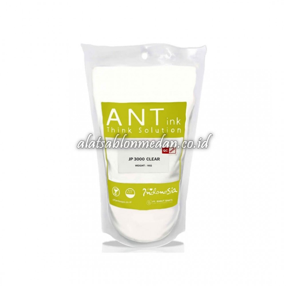 JP 3000 Clear 1Kg | Tinta Rubber Ant Ink